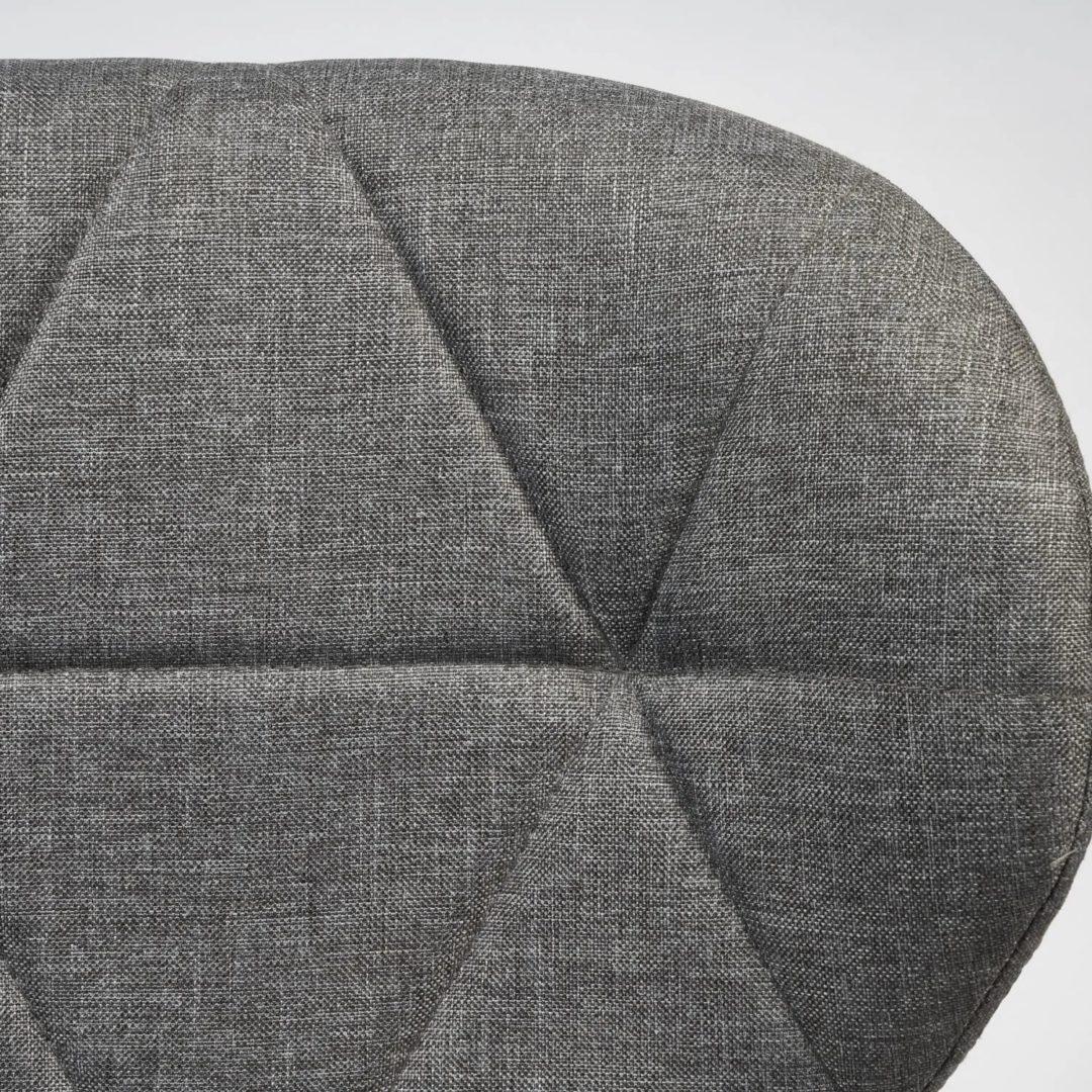 Офисное кресло Recaro (mod.007) металл, ткань, 45×74+10см, серый