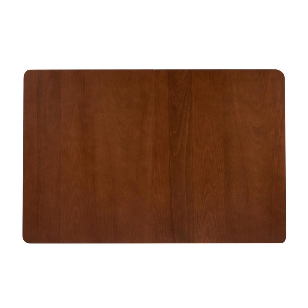Стол раскладной Ricco (Рикко) основание бук, столешница мдф, 80×120+40×75см, Коричневый (13991)