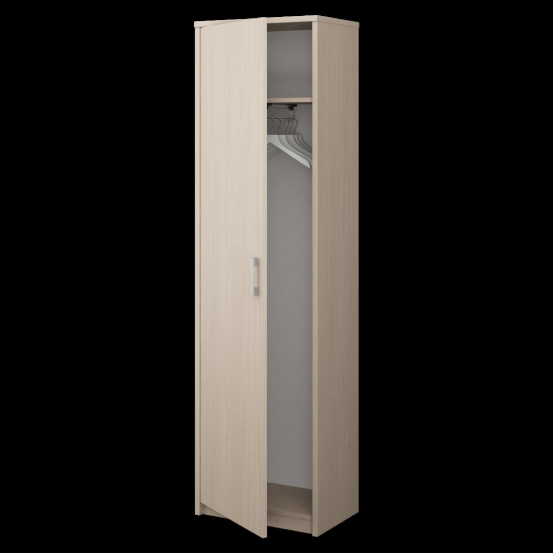 Шкаф для одежды А-308 560x370x2000 Ясень шимо