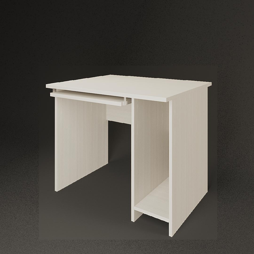 Стол компьютерный А-012 900x730x760 Ясень шимо