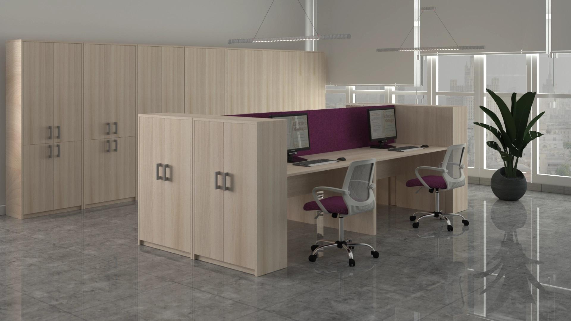 Мебель для персонала Арго Ясень шимо