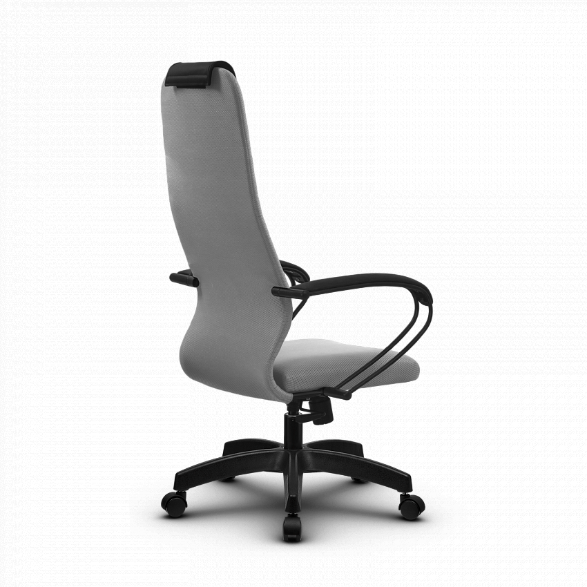Кресло SU-BP-10, цвет серый , крестовина пластик