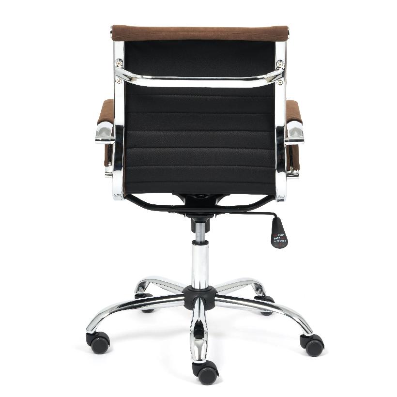 Кресло URBAN-LOW флок , коричневый, 6 (14446)